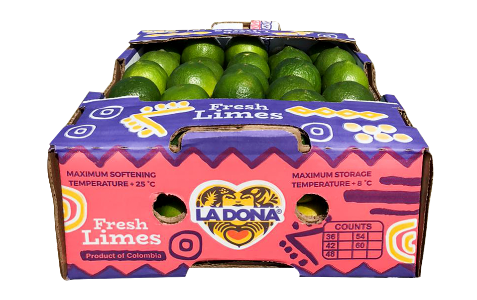 La Dona Fruit gives avocado and lime boxes a 'much-needed' new look