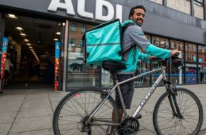 Early success with app orders pushes Aldi, Waitrose to expand trials with Deliveroo
