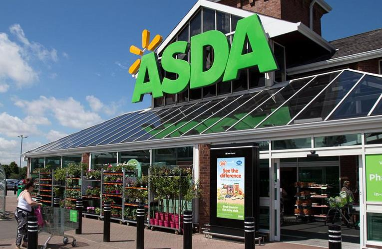 Asda shows small decline in third-quarter results, but online business is strong