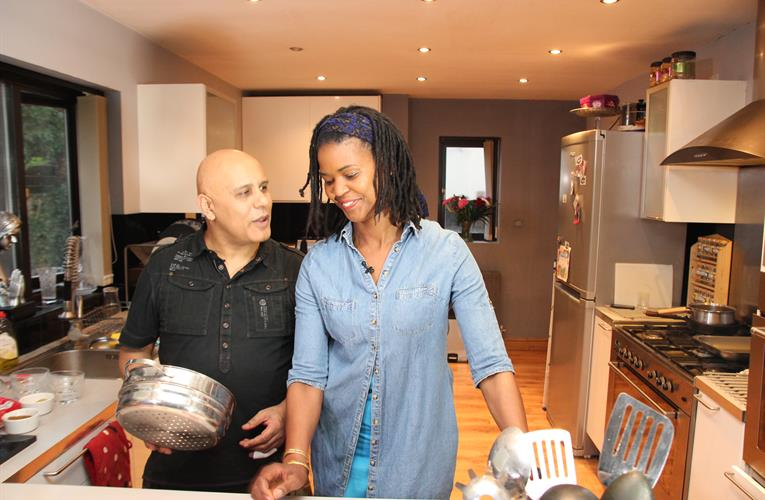 TV chefs make Caribbean-Asian fusion recipes fun and accessible for all