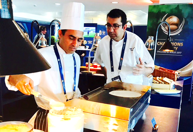 Kia Oval chef Kaushik offers advice for apprentices on launching career