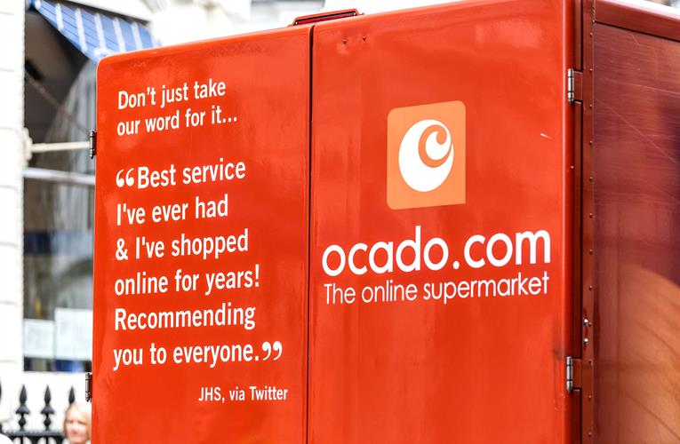 Ocado says grocery shopping 'has changed for the good' thanks to online
