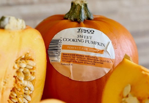 Consumers coming to market for sweet cooking pumpkins, according to Tesco