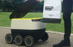 Drones and robots become reality as delivery options develop