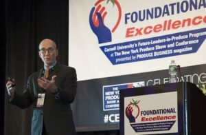 Cornell expert talks leadership at New York Produce Show Foundation Excellence programme