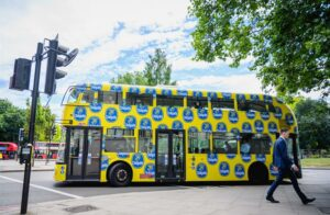 Chiquita taking branding to next level on double-decker buses in London