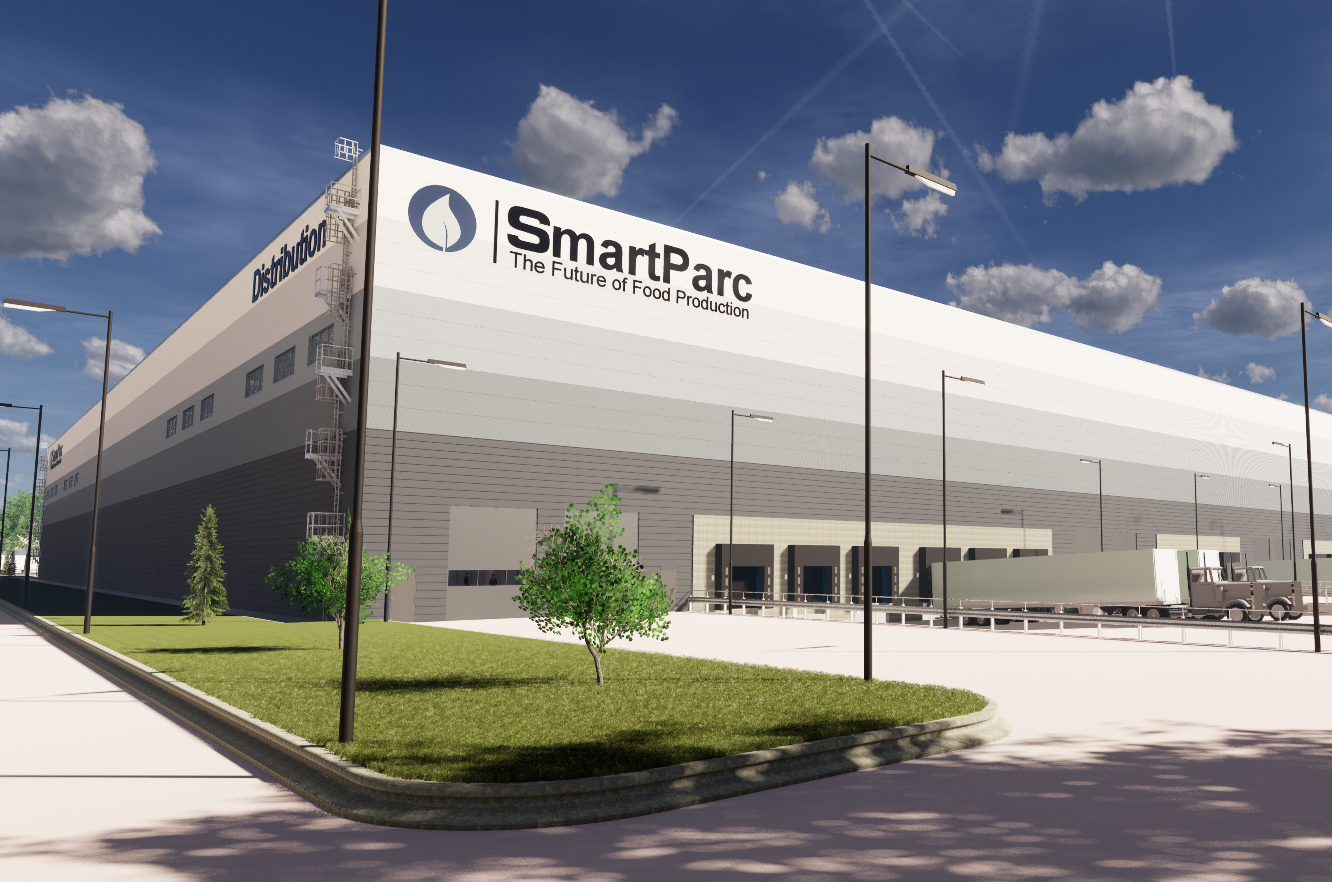 UK government provides assist on high-tech SmartParc food facility in Derby