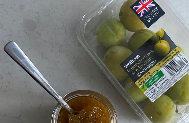 Greengages are all the rage at Waitrose shops for home cooks, pastry chefs