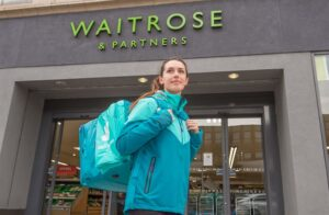 Waitrose putting Deliveroo service into motion this week